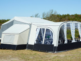 Camp let Solsejl living plus sand dream
